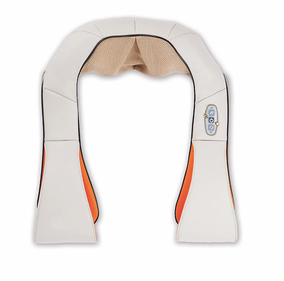 Shiatsu neck & shoulder massager with heating.