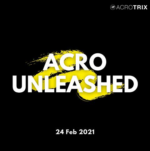 Acro Unleashed Webinar 24 Feb 2021