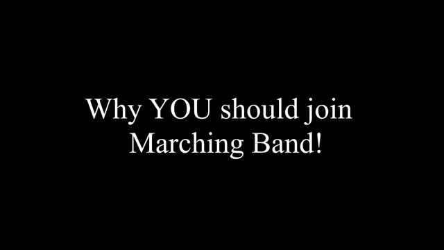 2nd Marching Band New Member Rehearsal