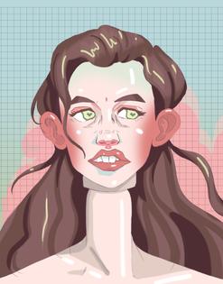 Self Portrait of a Doll