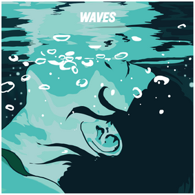 Cover illustration for 'Waves' project compilation