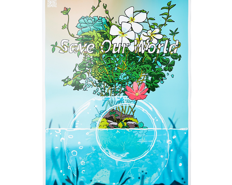 Save our world poster (18x24)