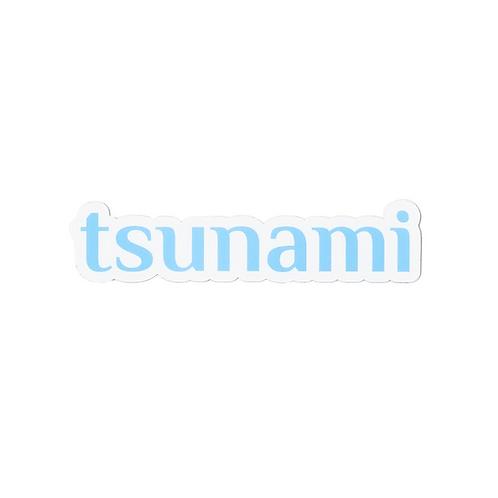 Tsunami sticker
