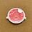 Thumbnail: 3x3 Apparel sticker Red & White