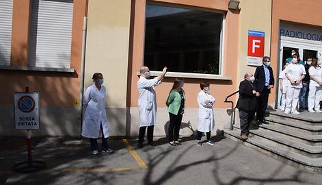 La cittadinanza di Cesano Boscone ci è vicina