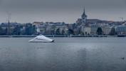 La rade de Genève et la cathédrale St-Pierre