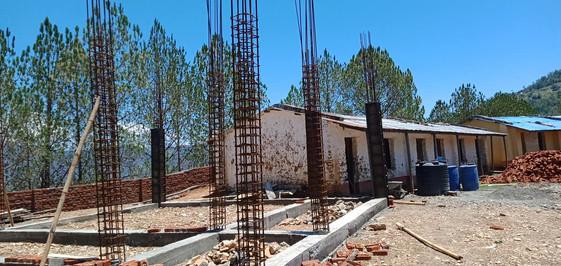 Les fondations du bâtiment
