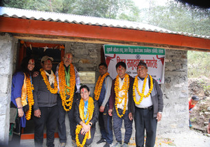 Inauguration de notre projet d'usine hydroélectrique