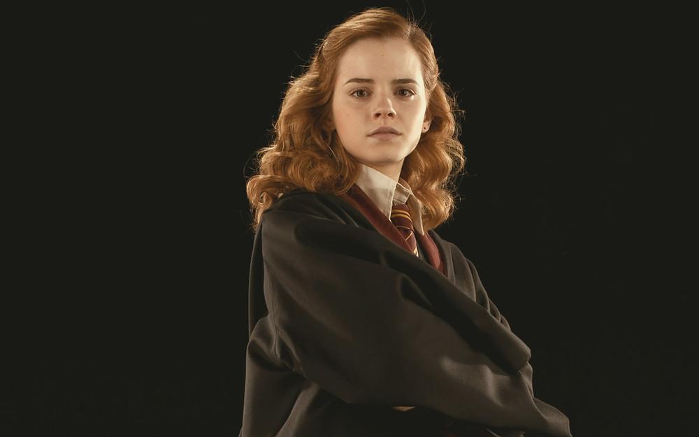 Emma Waston as Hermione Granger in Harry Potter