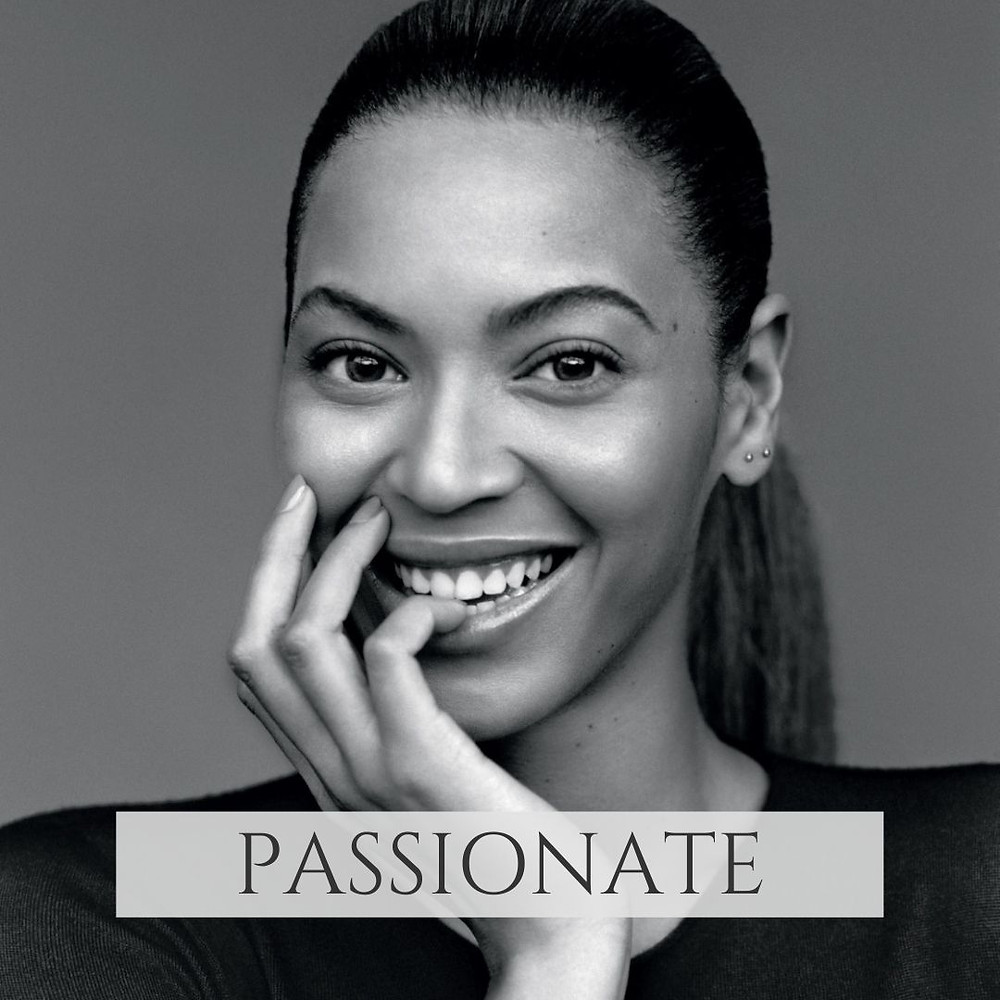 Beyonce smiling after brent bruning shows her life pattern