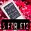 Thumbnail: 5 Wax Melt Snap Bars for £12