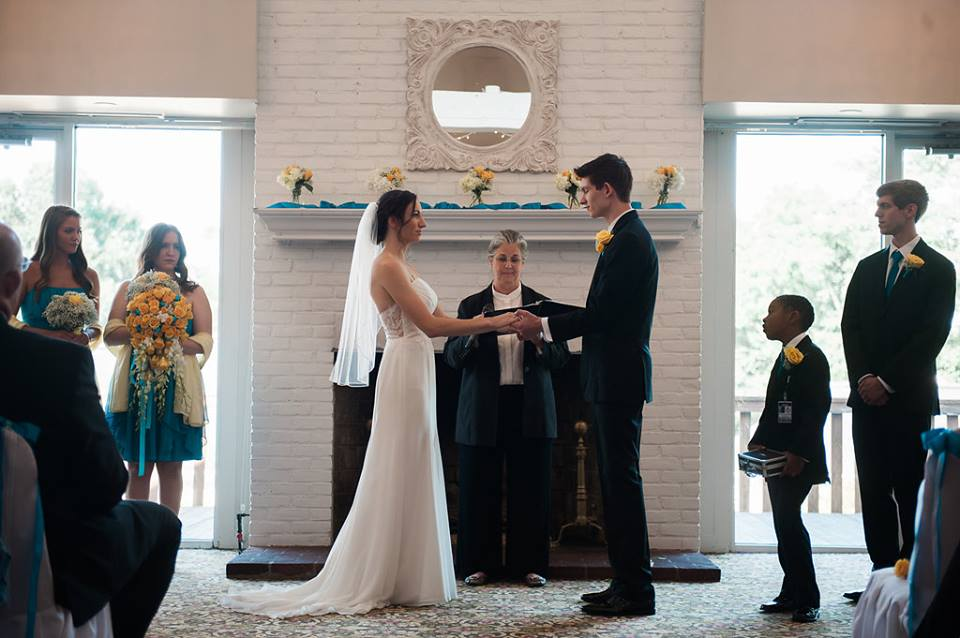 Kristina & Drew 3 Fredericksburg County Club  May 3, 2017