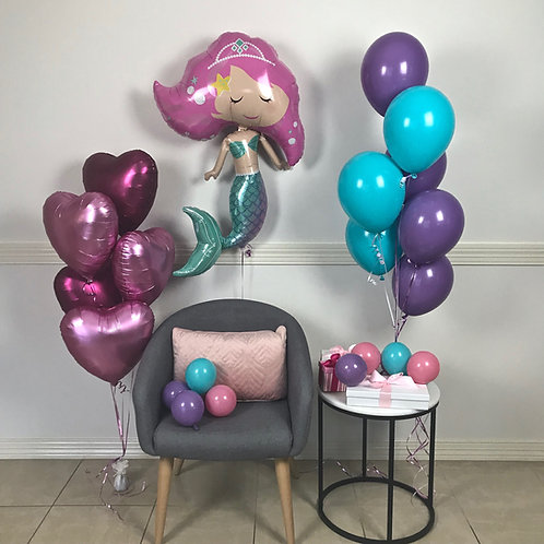 Mermaid Balloon Kit