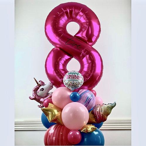 Birthday Balloon Sculpture
