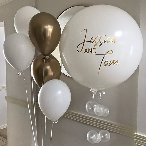 Engagement/Wedding Balloon