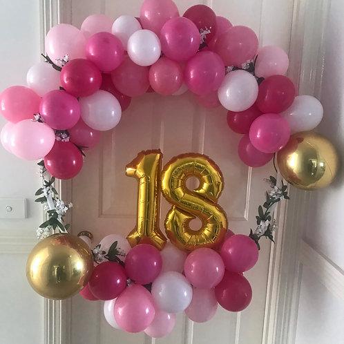 Number Balloon Hoop