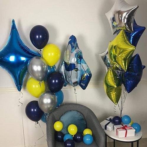 Spaceship Balloon Kit