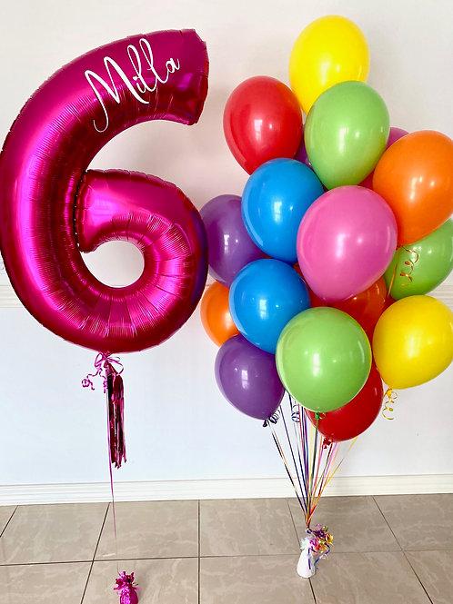 Rainbow Balloon Kit