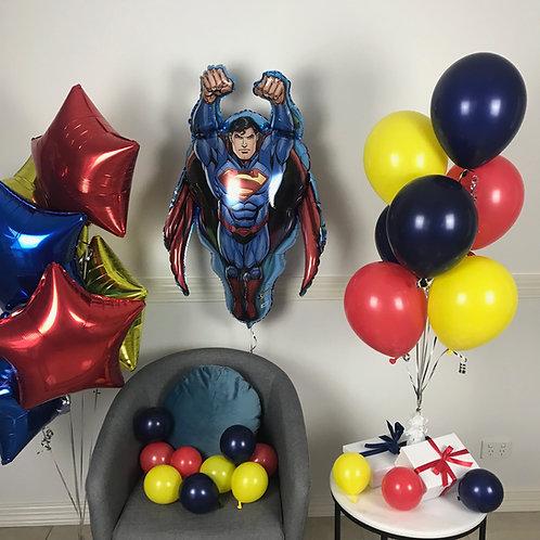 Superman Balloon Kit