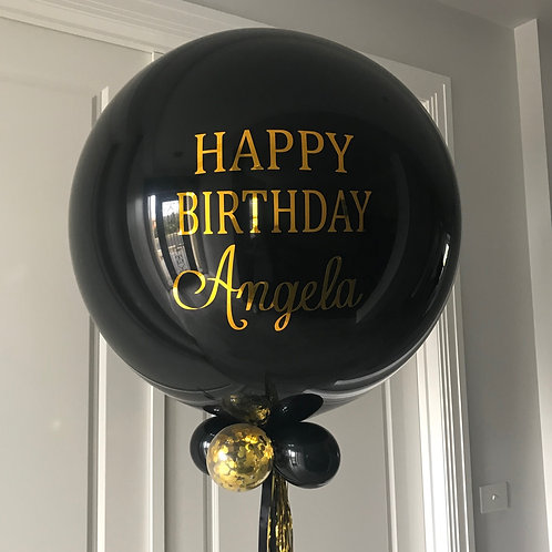 Helium Personalised Balloon