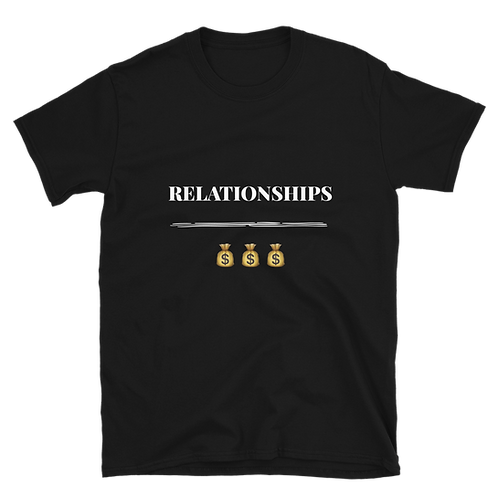 """Relationships Over $"" Tee"