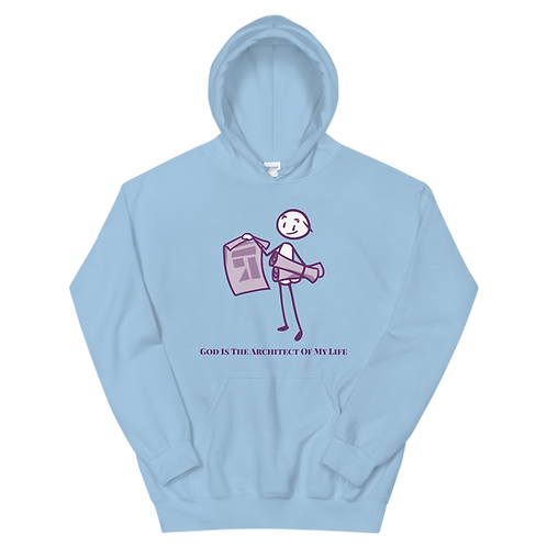 """God Is The Architect"" Hoodie"