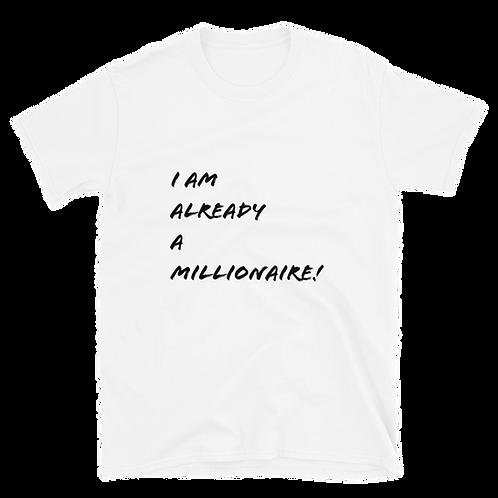 """I AM MILLIONAIRE"" Tee 1"
