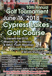 10th Annual SMLC Golf Tournament