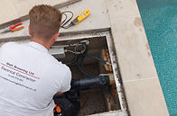 Swimming pool electrical maintenance
