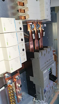 Hager Panel Board with Surge protection.