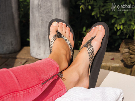 Take care of your feet with custom made sandals!