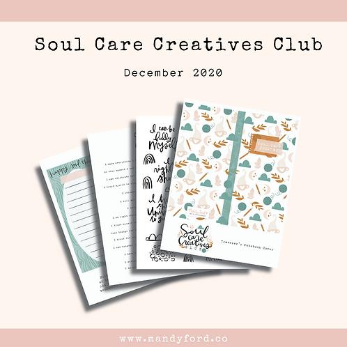 December 2020 Soul Care Creatives Club