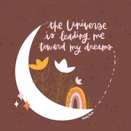 Universe Leading Me