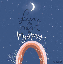 rest in mystery