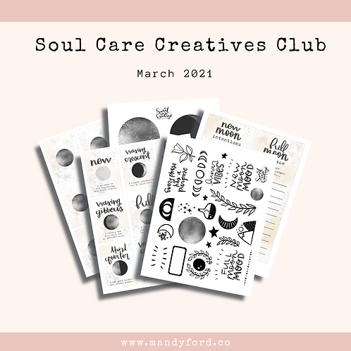 March 2021 Soul Care Creatives Club