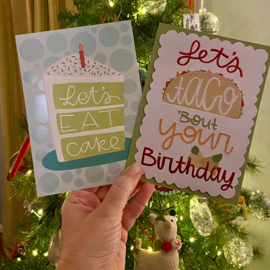 Licensed greetings cards with Design Design