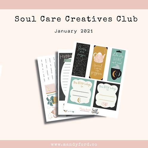 January 2021 Soul Care Creatives Club