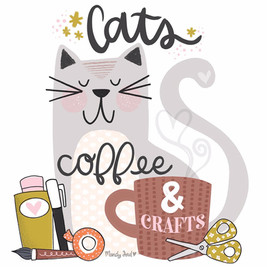 Cats, Coffee & Crafts