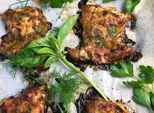 HERB LOVER'S BAKED CHICKEN