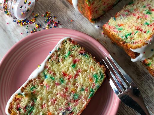 CONFETTI POUND CAKE