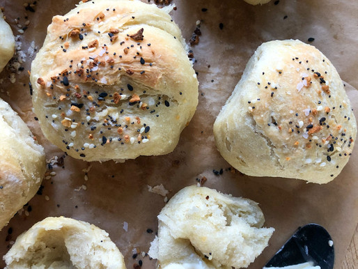 OVERNIGHT CRUSTY ROLLS