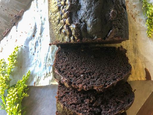 DECADENT CHOCOLATE LOAF CAKE (W/ SQUASH!)