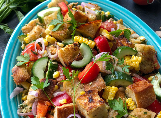 END OF SUMMER PANZANELLA