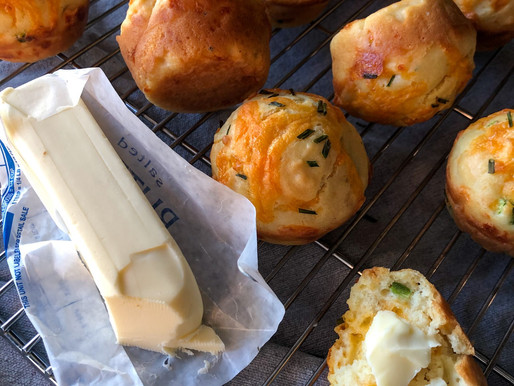 JALAPENO + SHARP CHEDDAR SOUR CREAM MUFFINS