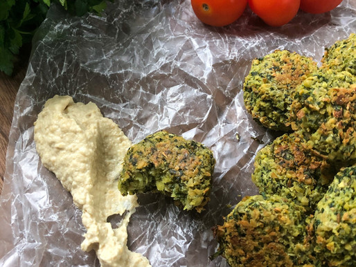SIMPLE BAKED FALAFEL