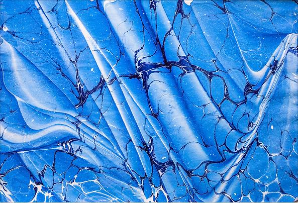 Blu edk marbling