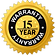 Quality Guarantee Badge 15yr Warranty Badge - Legacykbb.co.uk
