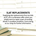 Slat replacements - The Blind Guy