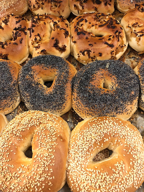 Freshly baked Bagels - Newlands Home Bakery