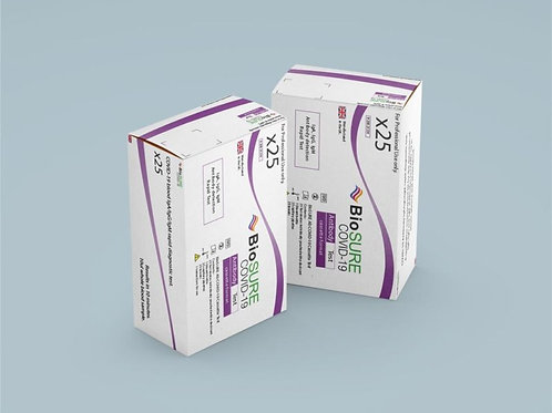 Professional Antibody Test (Sold in a Box of 25) Individual Price £25 (Inc. VAT)